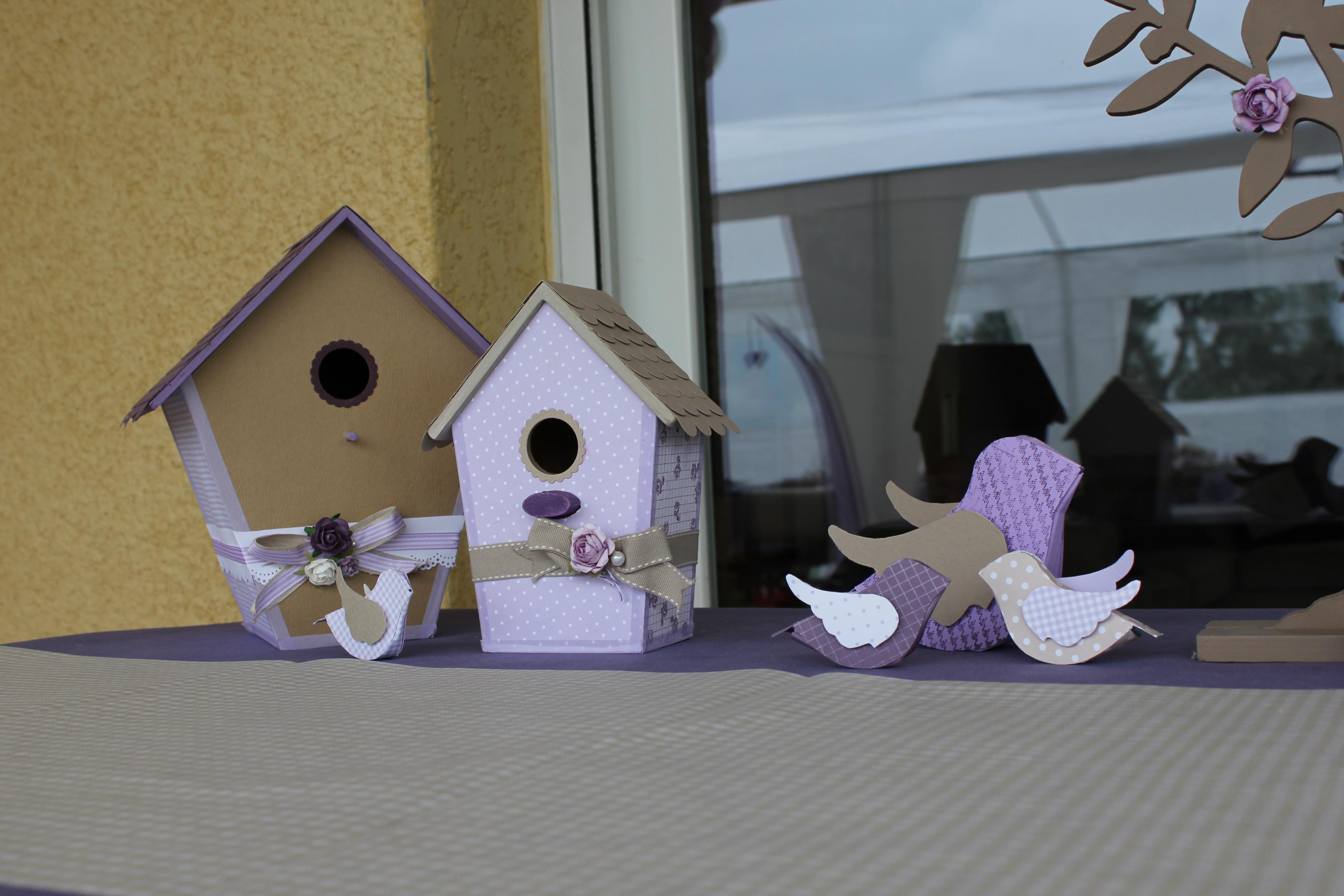 oiseaux en papier tuto. Black Bedroom Furniture Sets. Home Design Ideas