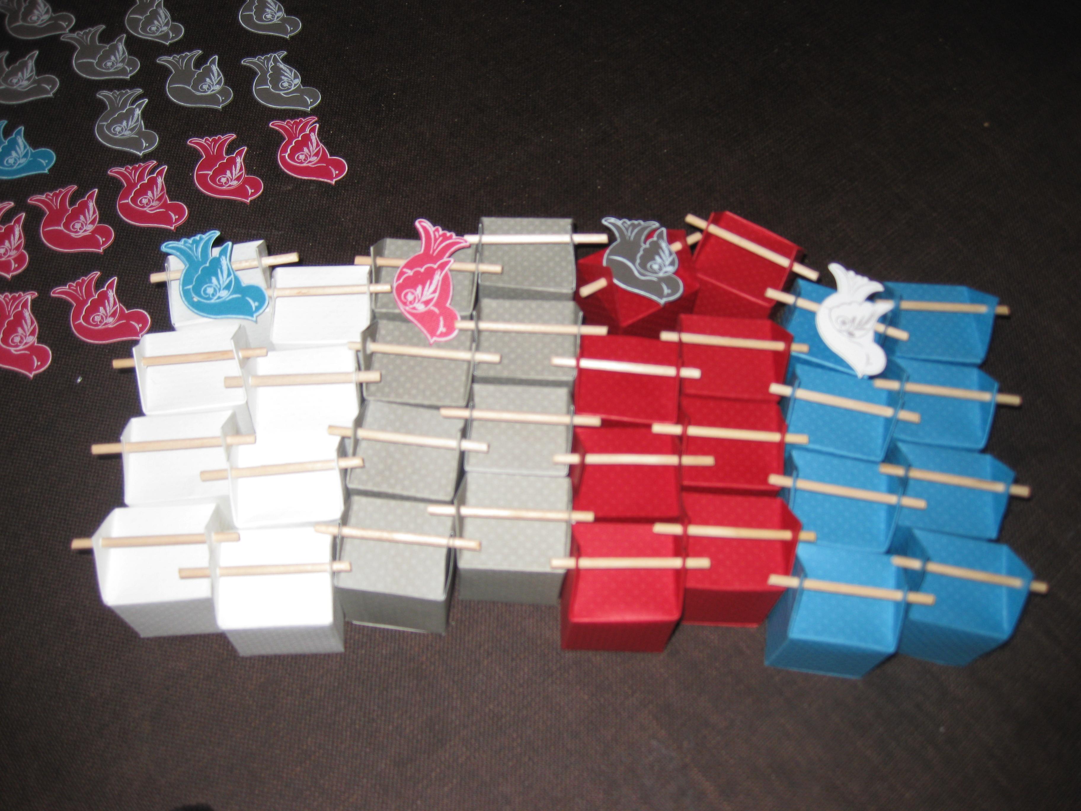Sehr Boîtes à dragées + carte FK46