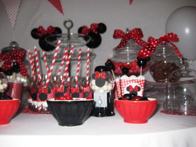 Anniversaire minnie - Decoration anniversaire minnie pas cher ...