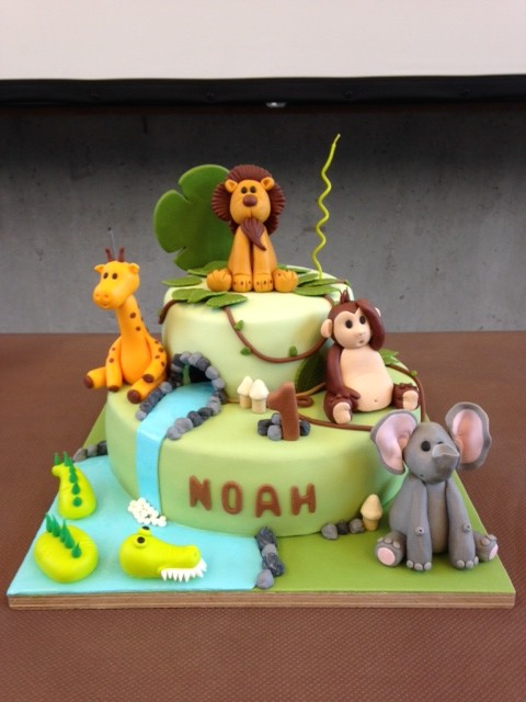 gateau anniversaire jungle (480x640)