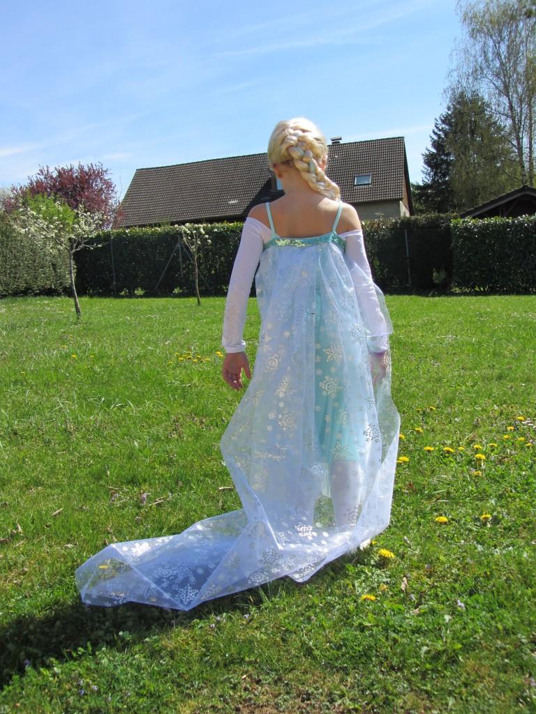 Costume Elsa Reine des Neiges