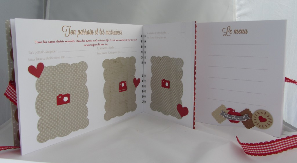 Livre d or biscuits