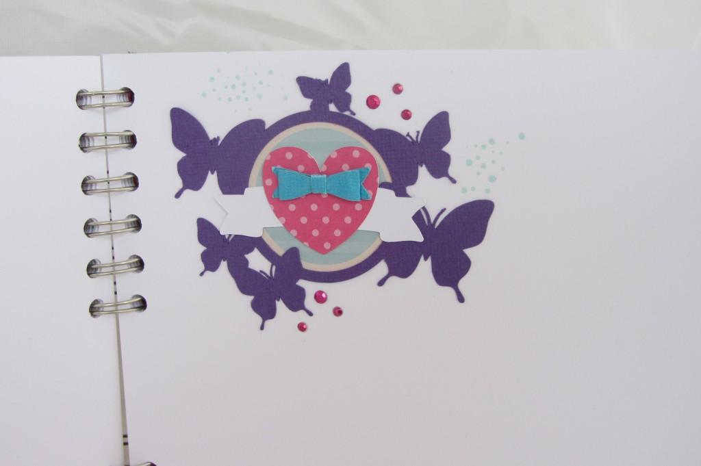 Livre dor papillons Riveli pour Scrapines