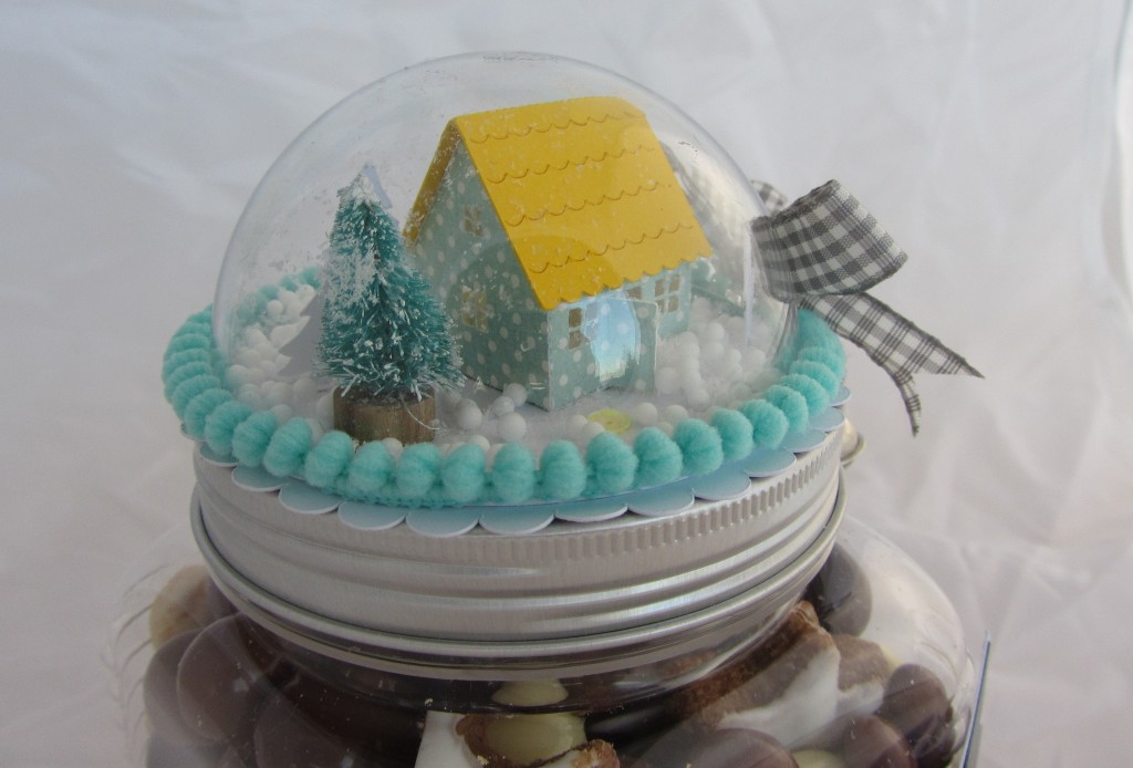 Boîte boule à neige Riveli pour Scrapines