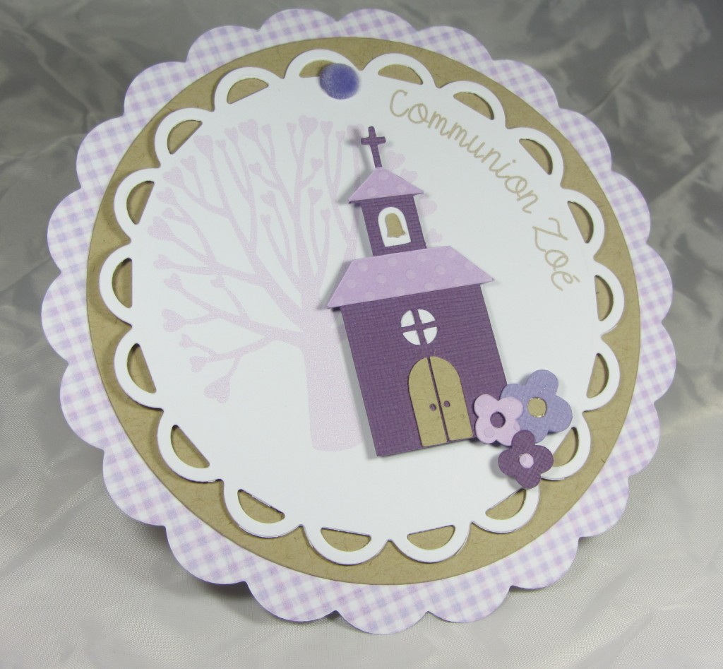 Carte communion par Riveli www.scrapines.fr