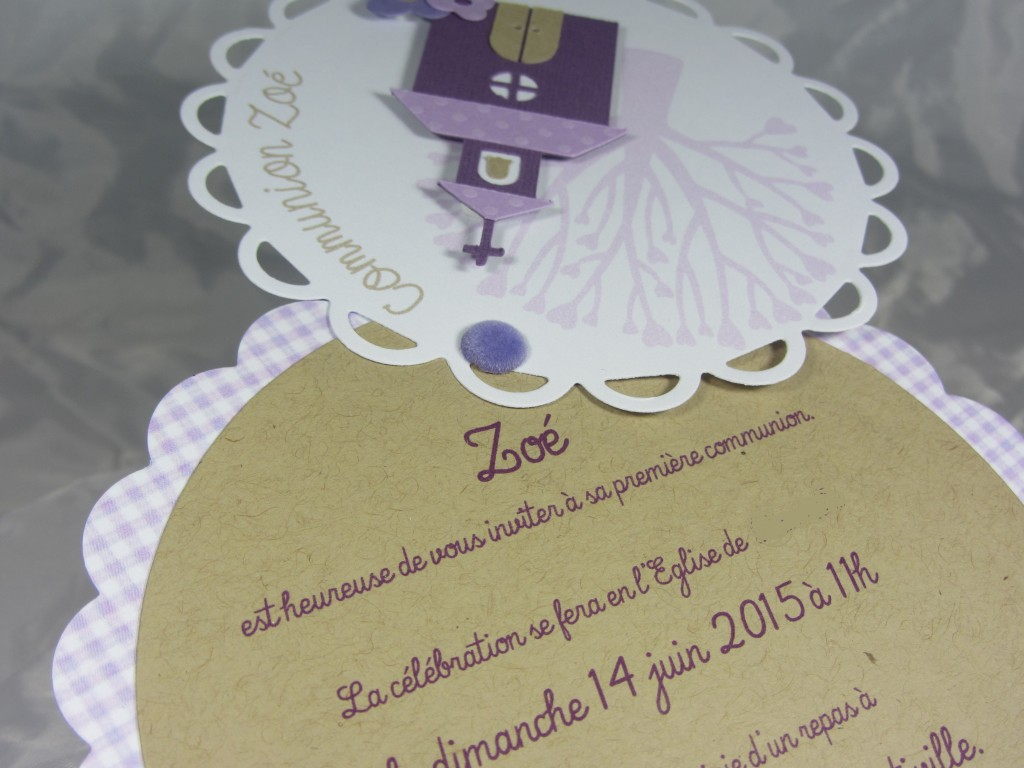 Invitation communion par Riveli www.scrapines.fr